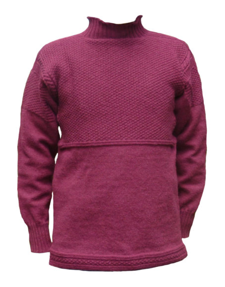 Scarborough pattern in Claret wool